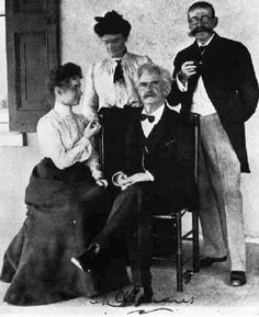 Helen Keller, Anne Sullivan, Mark Twain, Laurence Hutton in Mark Twain was an admirer of the remarkable deaf/blind Helen Keller. He first met Keller and her teacher Anne Sullivan at a party in the home of Laurence Hutton in New York City in the winter of The Miracle Worker, Concord, Anne Sullivan, Deaf Culture, Essayist, Writers And Poets, Helen Keller, Wife Quotes, Mark Twain