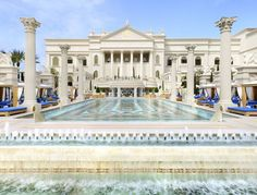 Caesars Palace Las Vegas pool Roman calm