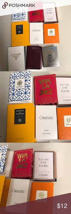 La femme prada la vie versace acqua di parma set Set of nine parfums for women Prada Makeup Concealer