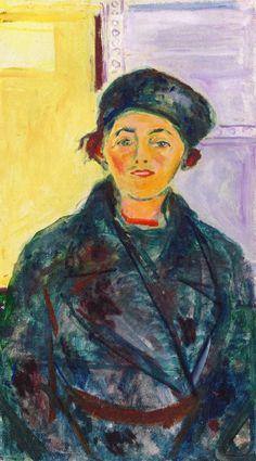 The Athenaeum - Ebba Ridderstad (Edvard Munch - ) 1935