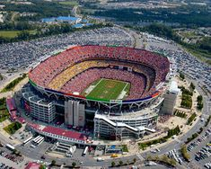 FedEx Field home to the Washington Redskins