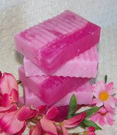 Valentine's Day Pink Sugar Gift Soap (5 oz) - fabulous gift for woman, girl or teen