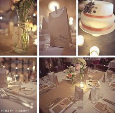 I would love a table arrangement like this....the clear vase and the candle makes it soooo romantic!