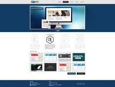 Personal portfolio web design.