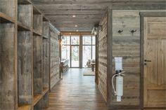 AV10 Nordic Lodge, Architectural Design Studio, Modern Lodge, Mountain Cottage, Cedar Homes, Rustic Bathrooms, Cabin Interiors, House Elevation, Ship Lap Walls