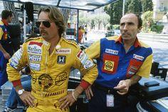f1 Keke Rosberg and Frank Williams 1985