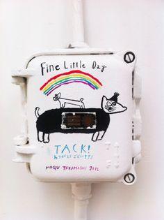 Mogu Takahashi Illustrations, Illustration Art, Art For Kids, Crafts For Kids, Worlds Of Fun, Dog Art, Artist Art, Art Education, Painting Inspiration