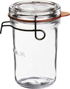 Luigi Bormioli Lock-eat sylteglas med patentlåg 350ml