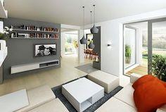 Obývací pokoj a jídelna
