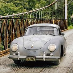 Porsche 356 A 1600 has traveled far and wide, and has nothing to hide.