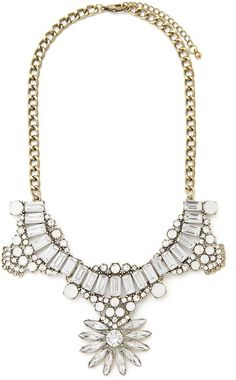 FOREVER 21 Art Deco Statement Necklace