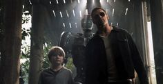 From movie Real Steel. Inspiration here for our fanfiction : Calipso helps Ulisse and his son Telemak to escape.