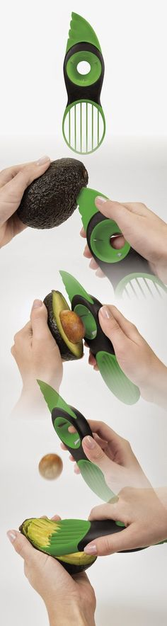 #1 Best Seller ~ OXO Avocado Slicer :#Avacado #Slicer #Vegetables #Utensils #Nicetohave #Kitchen #Tools #Bodytecsa