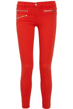 Sold! How hot are these J Brand Denim's color-pop stretch skinny jeans? I love the cropped cut because they allow you to showcase your sexiest pair of shoes.