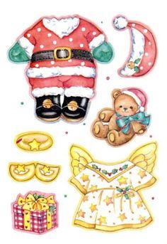 Holly Christmas Bear