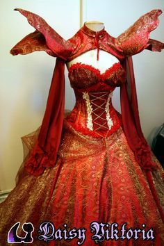 Labyrinth of Jareth Masquerade | Preview of the new giant red gown I made for Labyrinth of Jareth ...