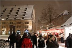 Nürnberg im Winter (Mauthalle)