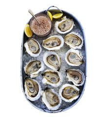 Three Dozen Oysters from Island Creek.  3 Dozen for $84.  Will ship.  Find at www.islandcreekoysters.com