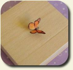 CDHM artisan Mariella Vitale shows you a how-to on making a paper butterfly in dollhouse 1:12 scale