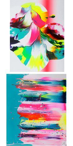 Yago Hortal paintings // Cheeky Design
