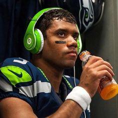 Seattle Seahawks Russell Wilson.