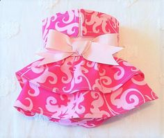Dog Diapers - Female Dog Diaper Skirt Perfect for your dog by piddleronthewoof