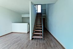 Image 25 of 31 from gallery of Affordable Housing in Prato / studiostudio architetti urbanisti. Photograph by Margherita Stacchi Affordable Housing, Stairs, Exterior, Urban, Interior Design, Architecture, Gallery, Connect, Home Decor