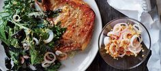 This pork chop dinner is a great stress-reliever (because it involves lots of smashing)