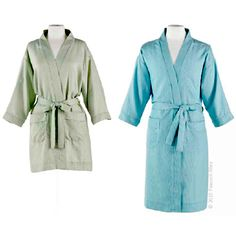 ae0e545d00 Peacock Alley s Billy Bath Robe is cute and comfortable. Combine colorful  pin-stripe