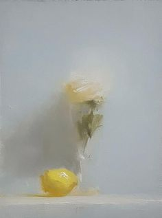 Neil Carroll Original Oil Painting Realism Impressionism Still Life Rose