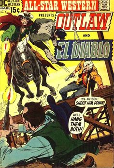 All-Star Western Vol 2 #4 (1971). Cover art: The arresting Neal Adams