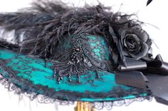 Shop for on Etsy, the place to express your creativity through the buying and selling of handmade and vintage goods. Victorian Hats, Bridal Hat, Derby Day, Kentucky Derby, Steam Punk, My Style, Hair, Handmade, Stuff To Buy