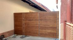 Front wooden teak gate...