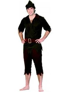 Peter Pan Adult Costume Size 48-50 X-Large (XL) --- http://helpn.us/10g