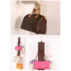 Household Heavy Duty Hanging Handbag Bags Holder Closet Rack Collection String Over the Wall Door Storage Organizer, Mutli Hooks (6 Hooks) Just Life http://www.amazon.com/dp/B00W6YYQRG/ref=cm_sw_r_pi_dp_x36Tvb1H49Q87