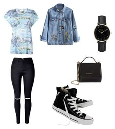"""Untitled #702"" by aornelas1818 on Polyvore featuring Yves Saint Laurent, Converse, ROSEFIELD and Givenchy"