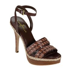 On the way - Cole Haan Vanessa Air Sandal · Sandales De Cuir ...