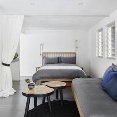 Lovely spaces to rest your holiday head @three__three #coolum #threethree #stayhere #sunshinecoast #yaroomba