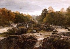The Athenaeum - The Sound of Many Waters (John Everett Millais - )