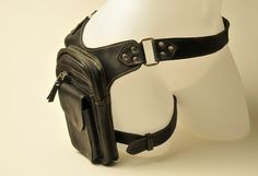 Burning Man Unisex Leather Leg Holster perfect for by ELLKO