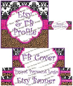 Business page package for Facebook etsy & Paypal by TheImageStore, $8.00