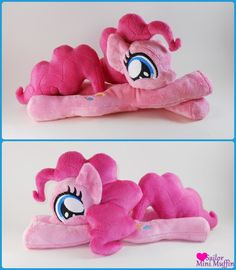 Pinkie Pie cuddly and floppy plush made by Fluff N' Stuff Creations!