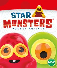 Meet the Star Monsters – collectible creatures from a far-off galaxy!  http://www.thetoyshop.com/brands/star-monsters