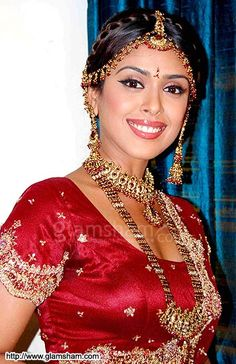 Actor & Model Hrishita Bhatt as an Indian Bride
