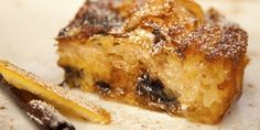 """A super easy and yet extremely tasty way to use up old (stale) bread, this recipe for """"Pain Perdu"""" (French Toast, Eggy Bread) makes a perfect breakfast or brunch dish for the weekend or a special breakfast gathering, such as Easter or Christmas. Greek Sweets, Greek Desserts, Greek Recipes, Blueberry French Toast, French Toast Bake, Cookbook Recipes, Cooking Recipes, Pancake Recipes, Brunch Recipes"""