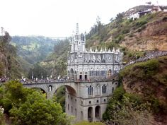 Las Lajas Cathedral - Colombia (I believe)