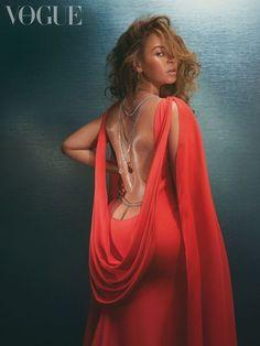 Estilo Beyonce, Beyonce Style, Lorraine Schwartz, Agent Provocateur, Magazine Vogue, Divas, Backless Gown, Beyonce Knowles Carter, Elisabeth Ii