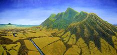 Gesichtstätowierung – This 2003 painting of Pirongia mountain by Mike Judge conveys its cultural signi… – Tatto und Piercing Facial Tattoos, Plant Magic, Cultural Significance, Maori Art, Art Gallery, Gallery Walls, Mountain Tattoo, Mountain Paintings, Local History