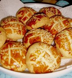 Dinner Rolls Easy, Food N, Food And Drink, Savory Pastry, Salty Foods, Recipe Mix, Breakfast Items, Turkish Recipes, Mediterranean Recipes
