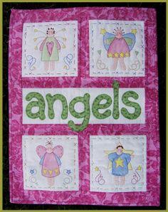 Angel quilt